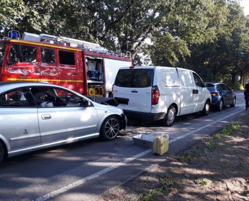 Verkehrsunfall in Sprötze