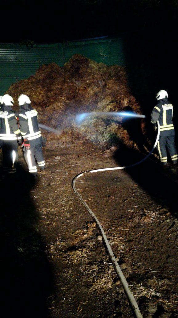 Brennt Unrat in Wesel