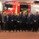 Die Geehrten und Beförderten mit den Gästen der Jahreshauptversammlung der Ortsfeuerwehr Holm am 21.02.2020